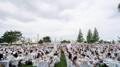 Miles de comidistas en 'Le Dîner en Blanc'