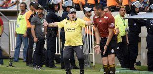 Post de El infierno de Maradona en Sinaloa: medio cojo, peleado con su hija... y dispara a Messi