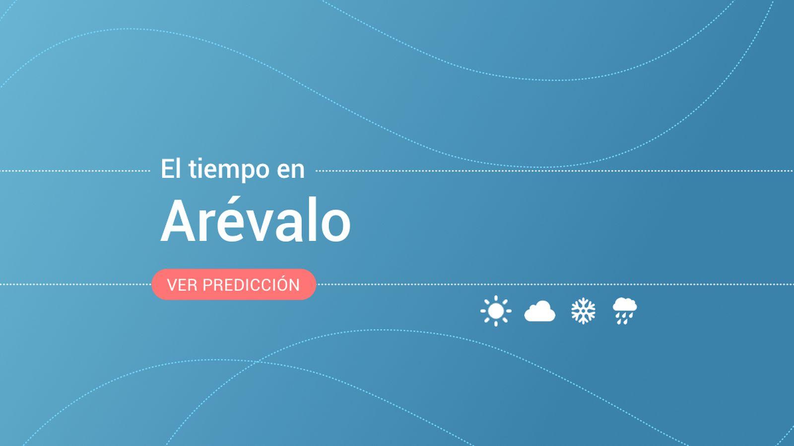 Foto: El tiempo en Arévalo. (EC)