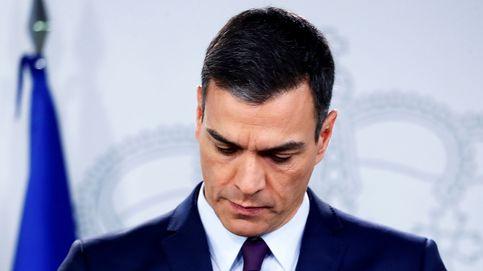 Esta es la corbata fetiche de Pedro Sánchez (y sí ha anunciado las elecciones con ella)