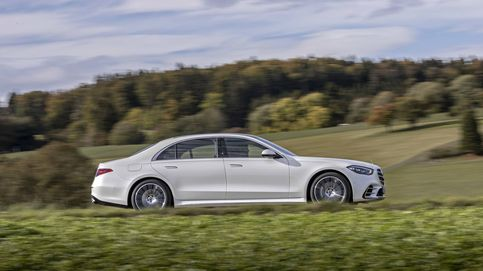 Al volante del nuevo Mercedes Clase S el coche de lujo del futuro