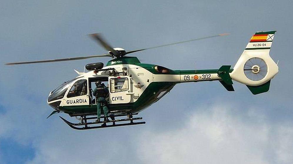 Foto: Helicópteros EC135 de la Guardia Civil enviados a Cataluña. (EC)