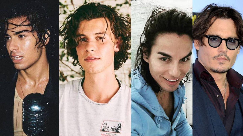 Alfred, Shawn Mendes, Julio José Iglesias y Johnny Depp. (Instagram/Cordon Press)