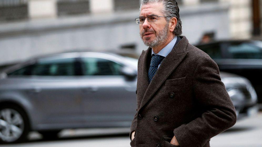 Foto: Granados comparece en la Audiencia Nacional. (EFE)