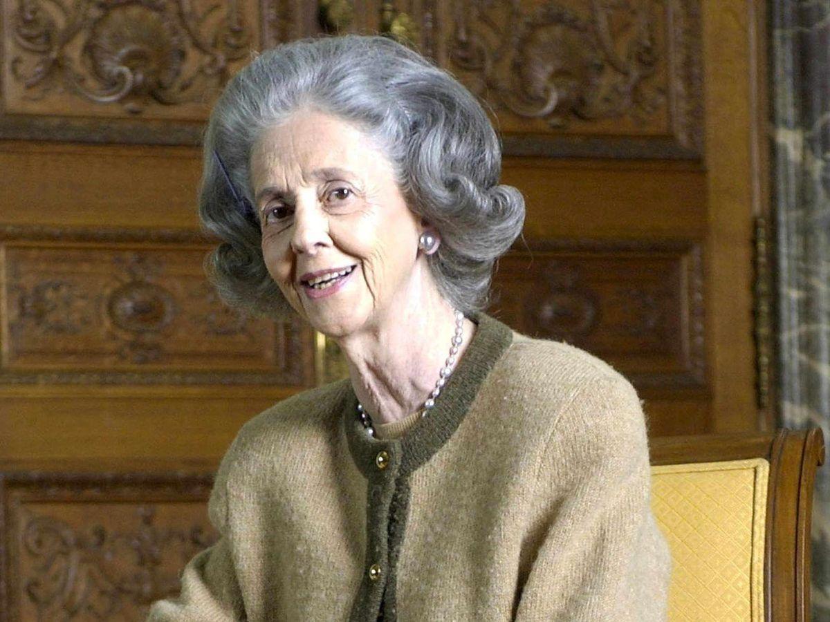 Foto: La reina Fabiola de Bélgica. (EFE)