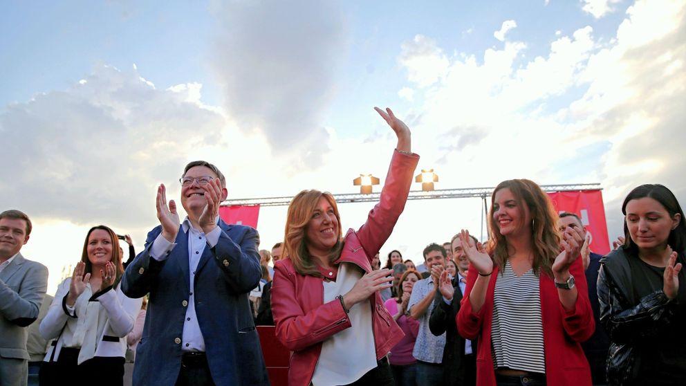 De feudo amigo a territorio comanche: Díaz rasca votos en casa de Ximo Puig