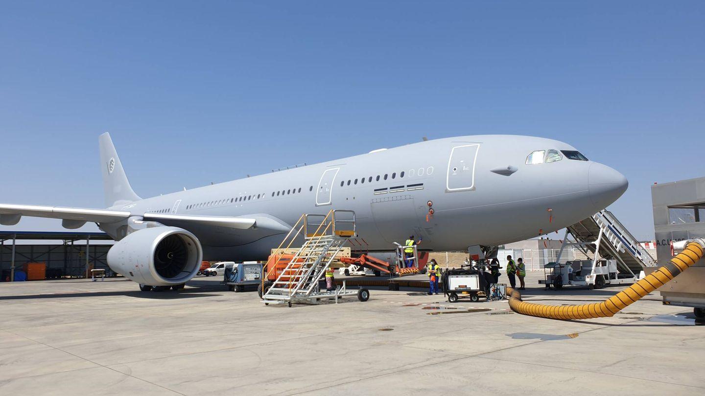 Avión terminado y listo para entrega a la Flota Europea de MRTT. Será el avión número 48 entregado. (Juanjo Fernández)