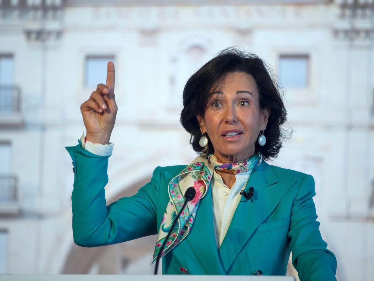 Foto: La presidenta del Grupo Santander, Ana Botín. (EFE)