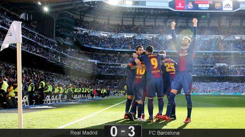 El Barcelona deja muerto al Real Madrid y le expulsa de la pelea por el título