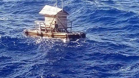 Un adolescente indonesio sobrevive 49 días a la deriva en una cabaña de pesca