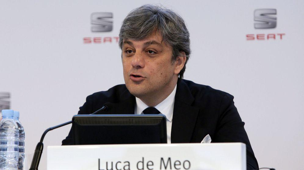 Foto: Luca de Meo, presidente de Seat. (EFE)