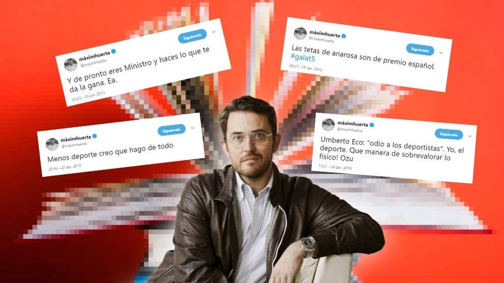 Foto: JxCat ha pedido a Pedro Sánchez que no haga ministro a Huerta por sus tuits.