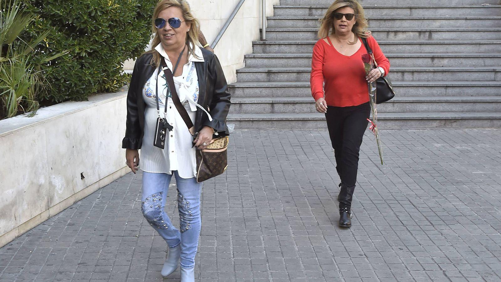 Foto: Terelu y Carmen Borrego en una imagen de archivo. (Gtres)