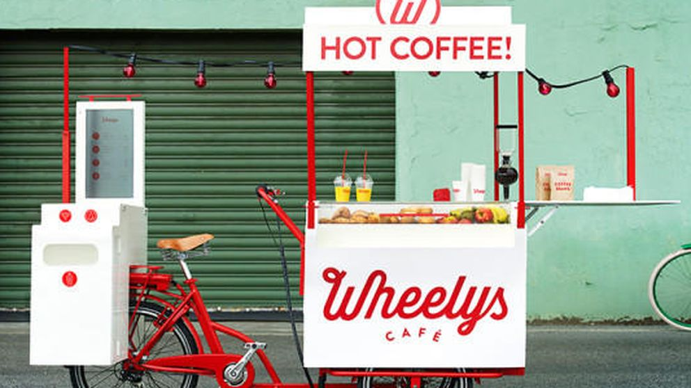 El último invento sueco: un café sobre ruedas para luchar contra Starbucks