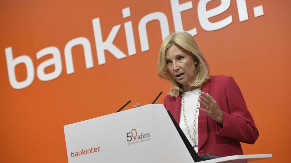 Foto: María Dolores Dancausa, consejera delegada de Bankinter, la entidad con una mayor rentabilidad en el primer trimestre./EFE