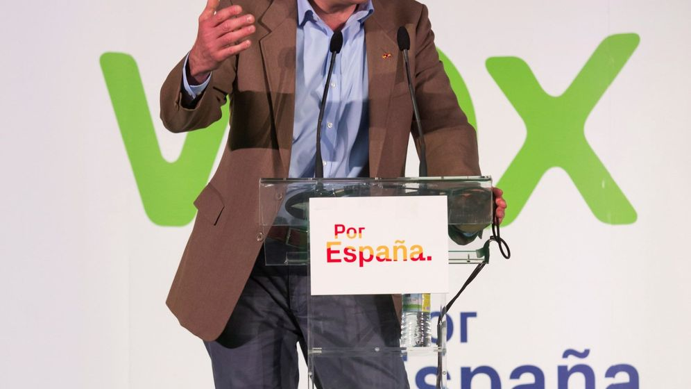 Foto: El secretario general de Vox, Javier Ortega Smith (Efe)