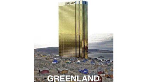 Trump insiste con Groenlandia y promete no levantar sus famosas torres allí