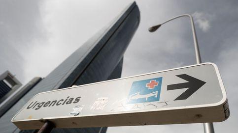 El Hospital La Paz inicia la instalación de una carpa cerca de Urgencias