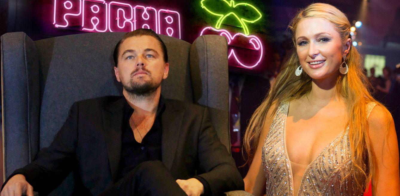 Foto: Leonardo DiCaprio y Paris Hilton en un fotomontaje de Vanitatis