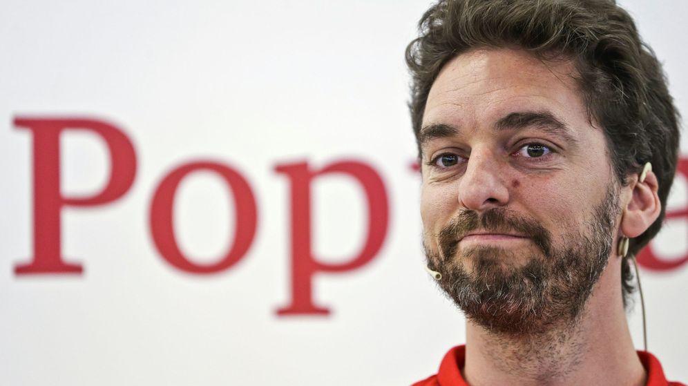 Foto: El patrocinador del Banco Popular, Pau Gasol.