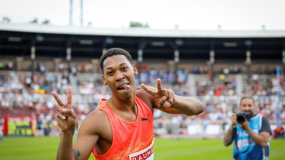 Foto: Juan Miguel Echevarría ya es una de las grandes realidades del atletismo mundial. (Reuters)