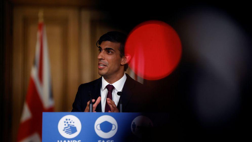 Foto: Rishi Sunak, ministro del Tesoro. (Reuters)