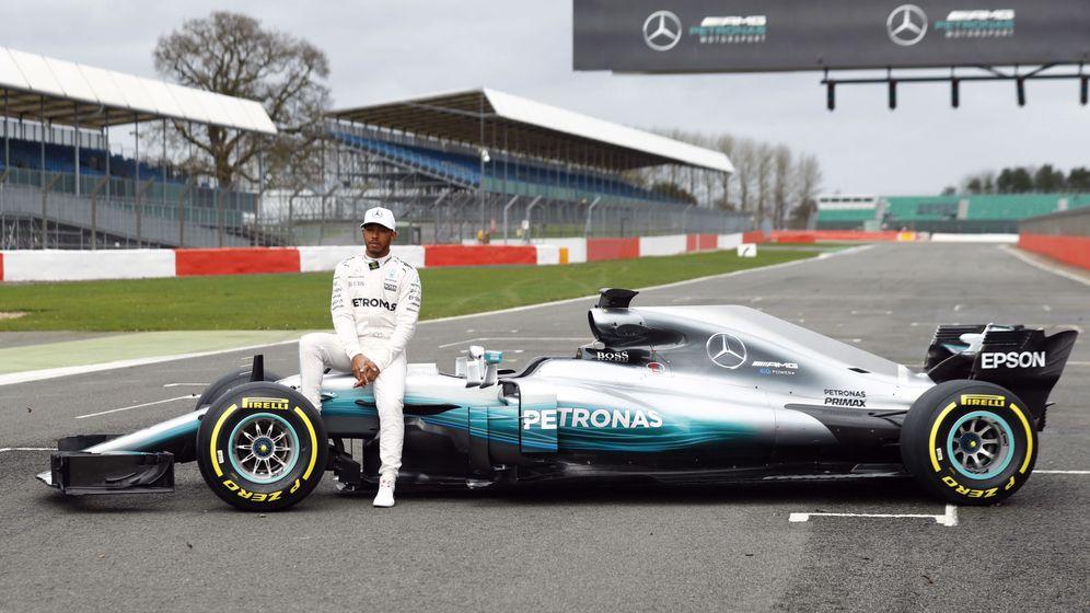 Foto: Mercedes presenta su W08, el Fórmula 1 a batir