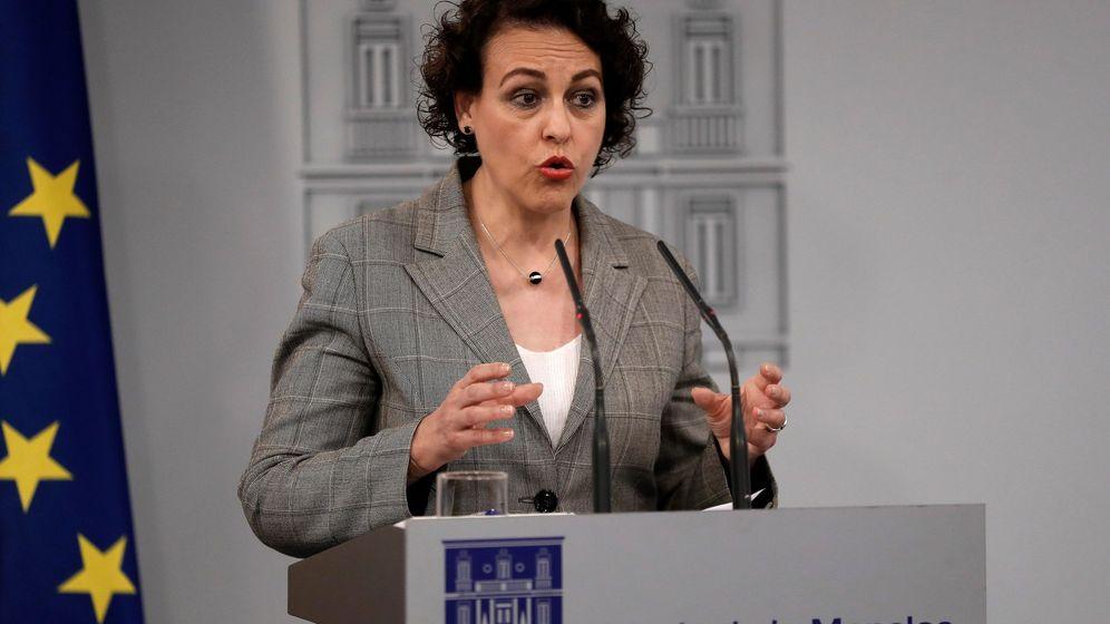 Foto: La ministra de Trabajo, Migraciones y Seguridad Social, Magdalena Valerio