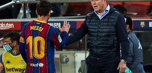 Post de Koeman evidencia la contradicción de la Gestora del Barça:
