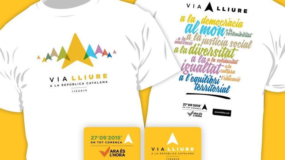 3 millones de euros en camisetas para apoyar la independencia de Cataluña