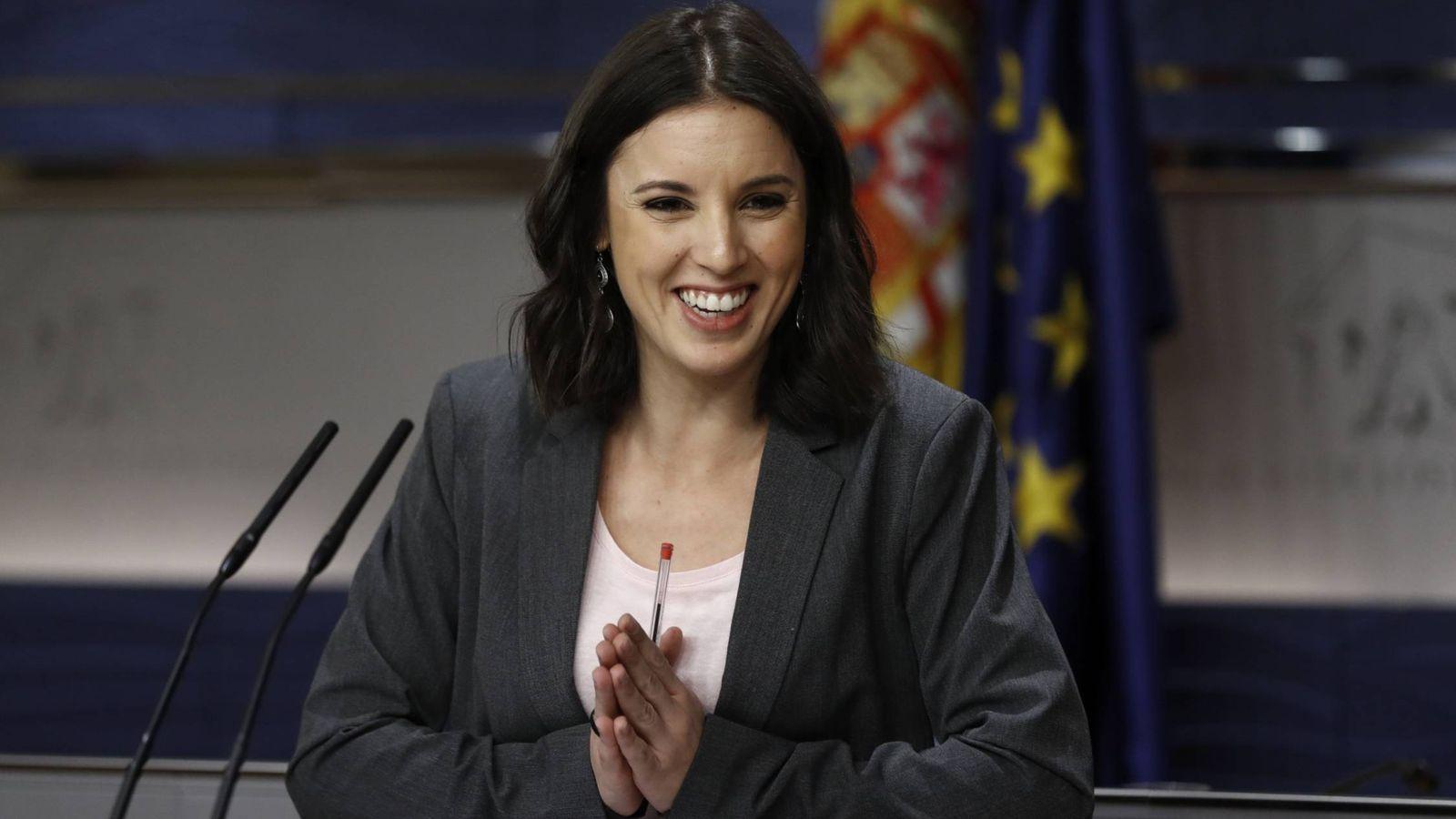 Foto: La portavoz de Podemos en el Congreso, Irene Montero. (EFE)