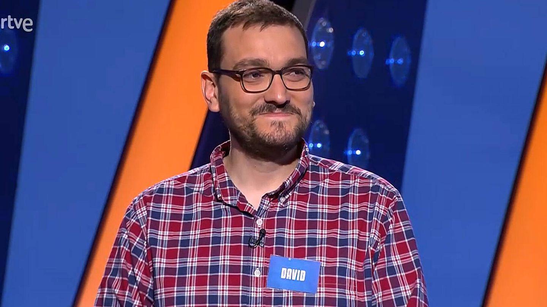 David Díaz, en 'Saber y ganar'. (TVE)