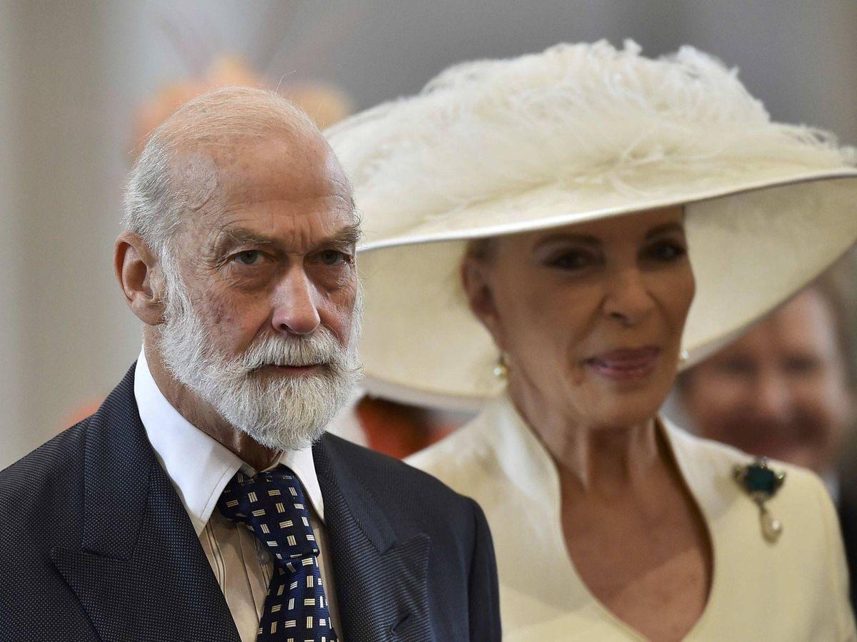 Foto: Los príncipes Michael de Kent. (Reuters)