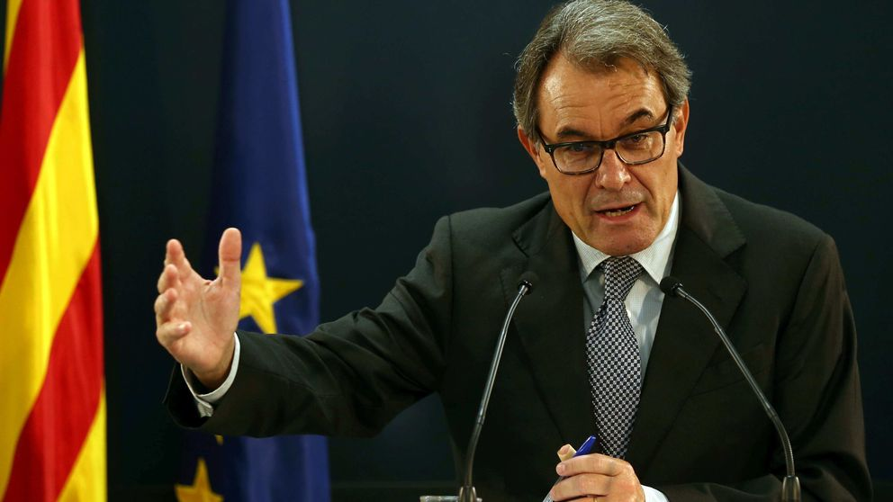 El TSJ catalán procesa a Artur Mas por desobediencia y prevaricación el 9-N