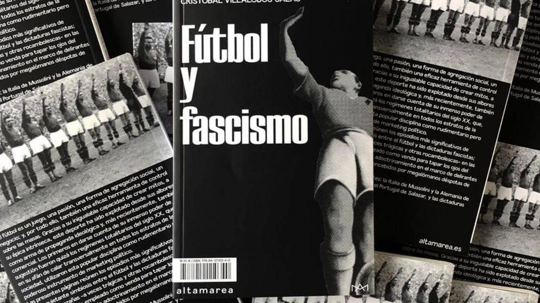 Portada del libro Fútbol y Fascismo.