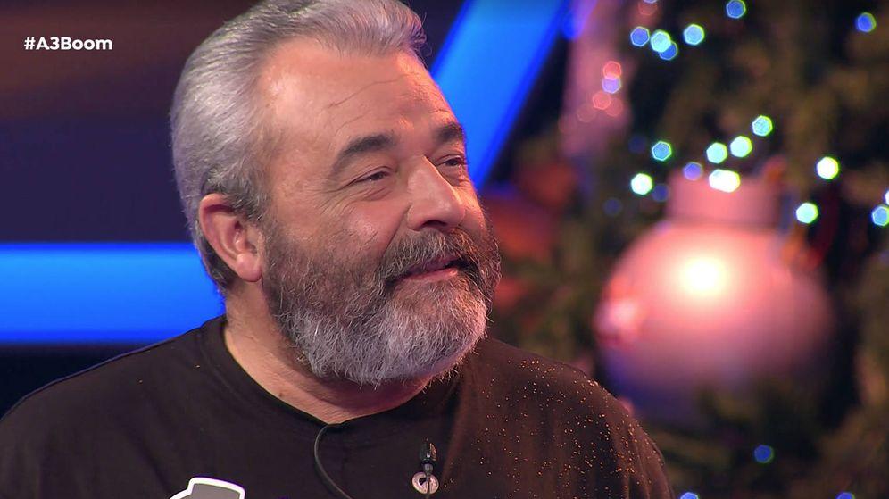Foto: Jose Pinto, en su último programa en '¡Boom!'. (Atresmedia)