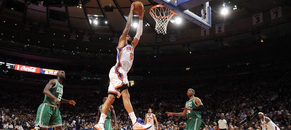 Foto: Un Celtics - Knicks, en el Madison Square Garden (Efe).