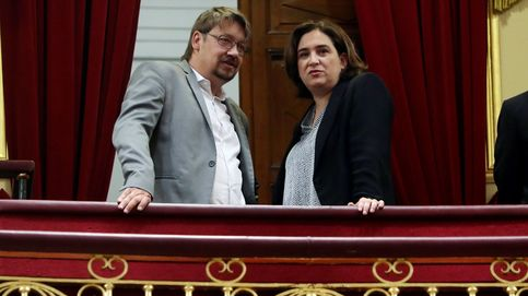 Moción de censura, en imágenes: de la bandera de Cañamero a Colau en la tribuna