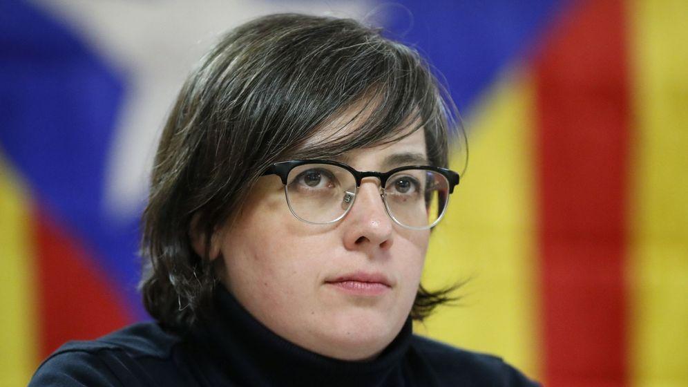 Foto: La líder del partido pro-independencia catalana CUP Mireia Boya. (EFE)