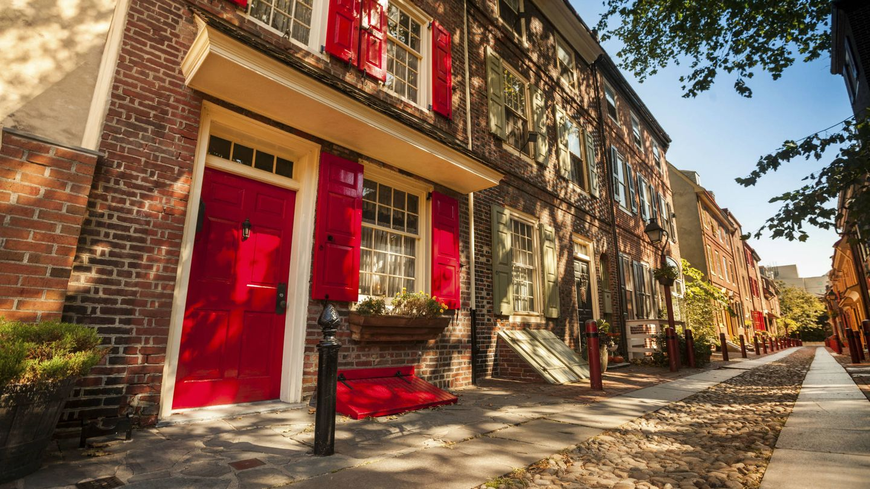 Elfreth's Alley, la calle residencial más antigua de EEUU. (iStock)