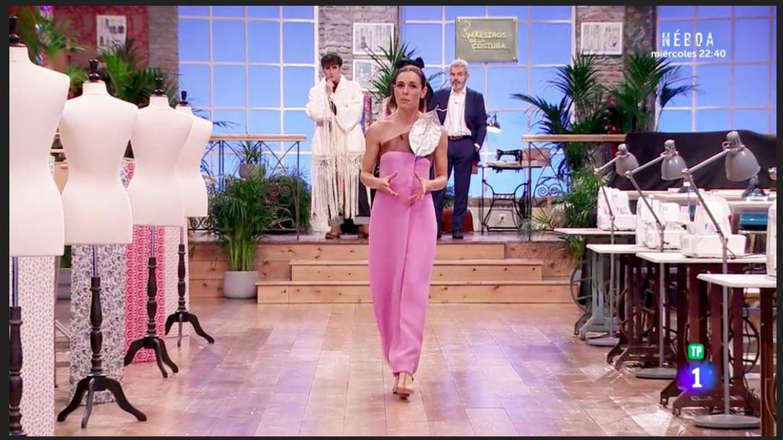 El vestido de Marcos Luengo. (TVE)