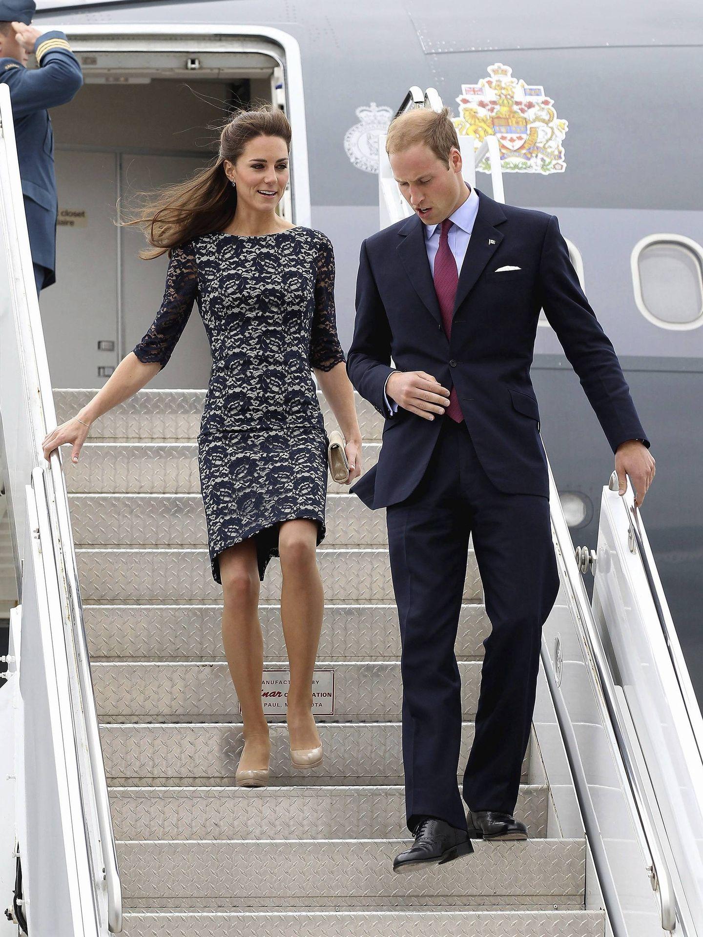 El príncipe Guillermo y Kate Middleton, en una imagen de archivo. (EFE)