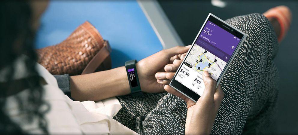 Foto: La pulsera inteligente de Microsoft se agota en su primer día a la venta