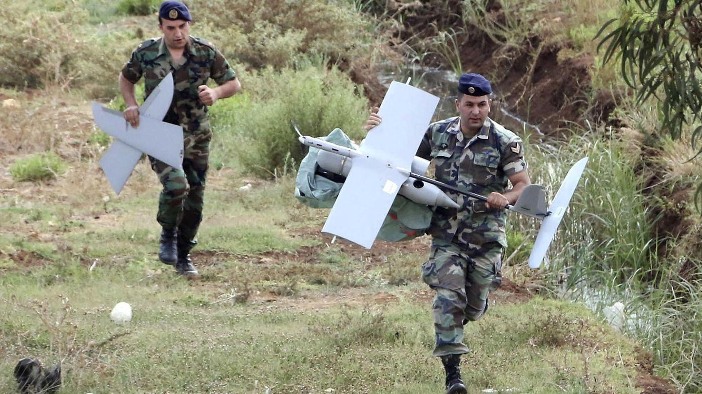 Dron usado por el ejército israelí y encontrado en Líbano. (Foto: Reuters)