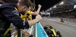 Post de Los piropos de los exjefes de Carlos Sainz en su último día con Renault