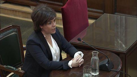 Soraya Sáenz de Santamaría, en el juicio del 'procés': No me reuní con nadie de la Generalitat para el 1-O