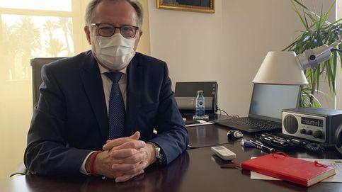El presidente de Melilla recibe la notificación de su expulsión de Ciudadanos