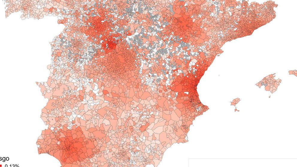 Desarrollan un modelo para predecir los sitios de España con más riesgo de Covid-19