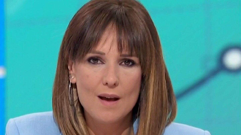 Mónica López, en 'La hora de La 1'. (RTVE).