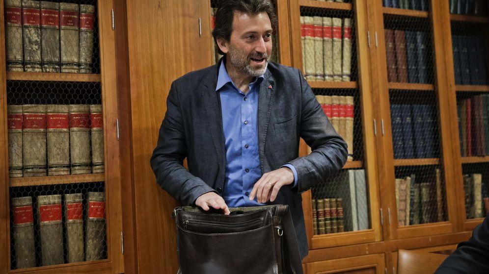 Foto: Mauricio Valiente, excandidato de IU a Madrid y concejal de Ahora Madrid. (EFE)
